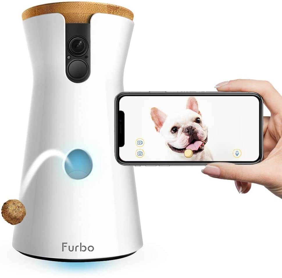 Hundekamera mit Leckerliausgabe